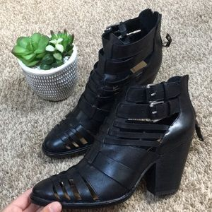 Dolce Vita Cutout Ankle Booties